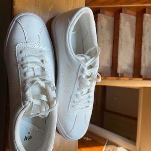 H&M pure white brand new kicks